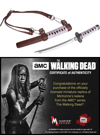 MC-WD002 - The Walking Dead Official Katana Letter Opener with Display Stand