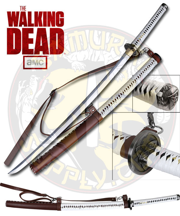 MC-WD001P - The WALKING DEAD (AMC) Licensed Movie Hand Forged Sword